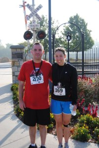 Jason and Jenny Buffalo Century 5K 2012