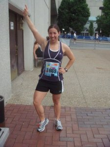 Before Hospital Hill in 2010: To the hills! With thighs Wonder Woman would be jealous of, I was ready for my first time to conquer the hills. This year will be my 4th year running the half.