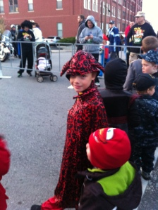 Matthew's devil costume; I didn't really it consider to be a costume - he's 9 after all. LOL.