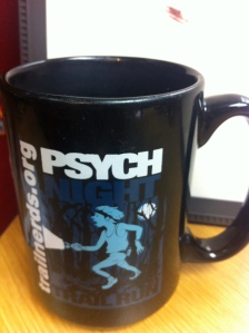 Sipping something hot or cold - this mug is one of the most useful race souvenirs. Adds flair to any cubicle or desk.