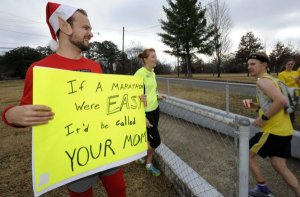 One of the funniest running signs ever!
