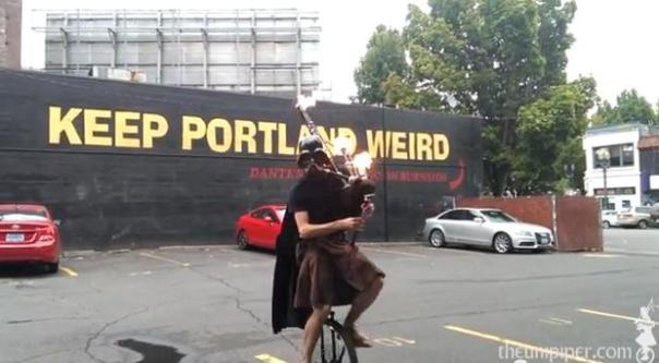 Google the Portland Unipiper to see more of this incredibly talented dude.