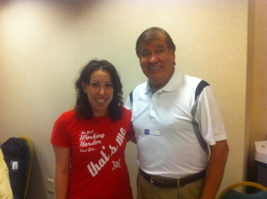 Getting to meet Billy Mills was such an honor. He's a very inspiring runner!!!