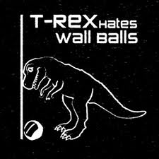 Wall Balls: hold a heavy ball, do a squat, then pop up and throw the ball up high on the wall. So much fun!, said no one ever.