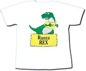 I have the body of a t-rex and I LOVE runzas. Oh crap, I'm the kid's mascot - Runza Rex.