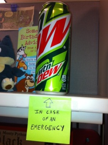 Mountain Dew: fueling academics and LAN parties since 1940.
